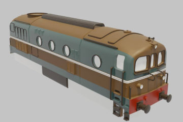 Lavorivirtuali - Locomotiva FS D341