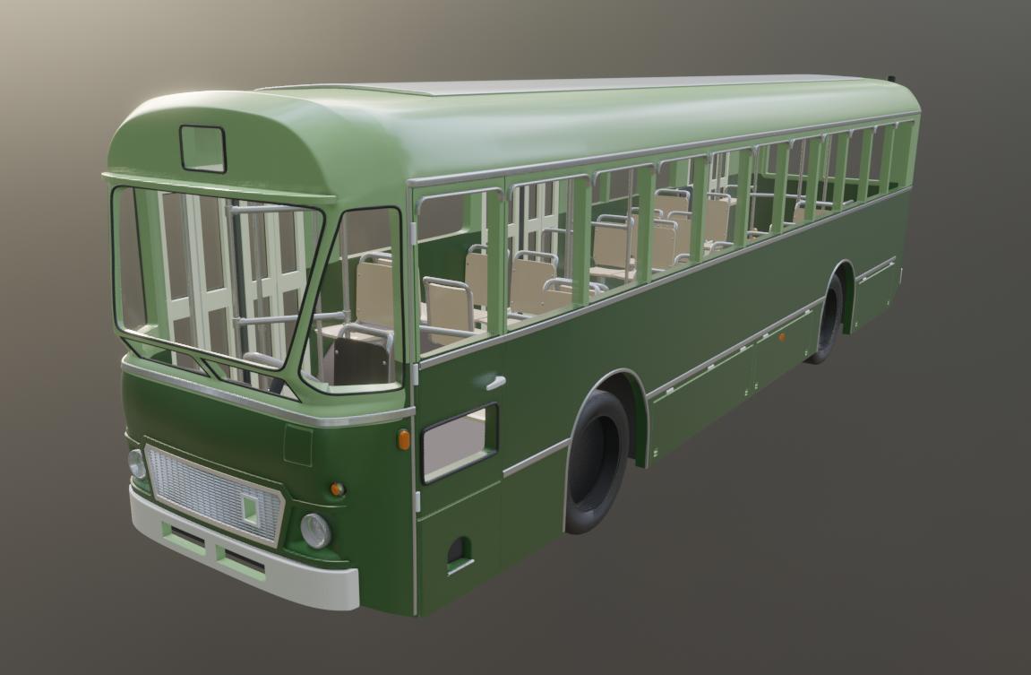 """Autobus FIAT 410 """"Pistoiesi"""" in scala HO/N"""