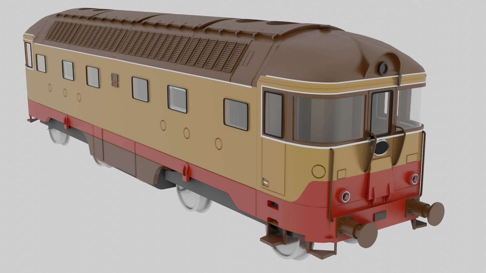Locomotiva FS D342 in scala HO