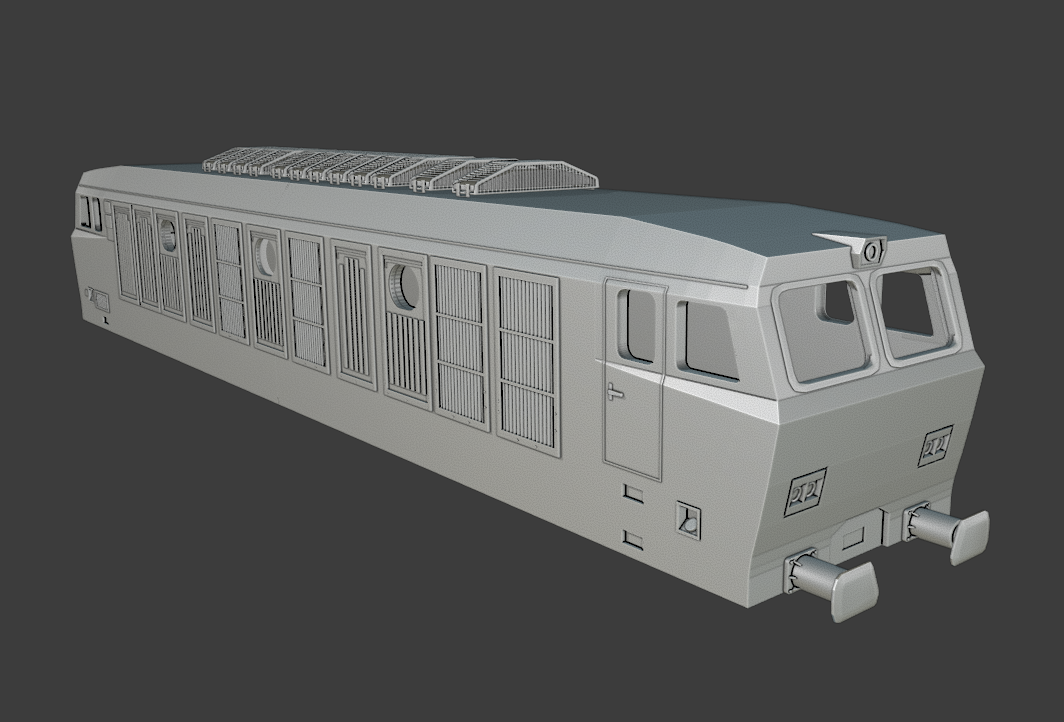 """Locomotore FS E.632 / E.633 """"Tigre"""""""