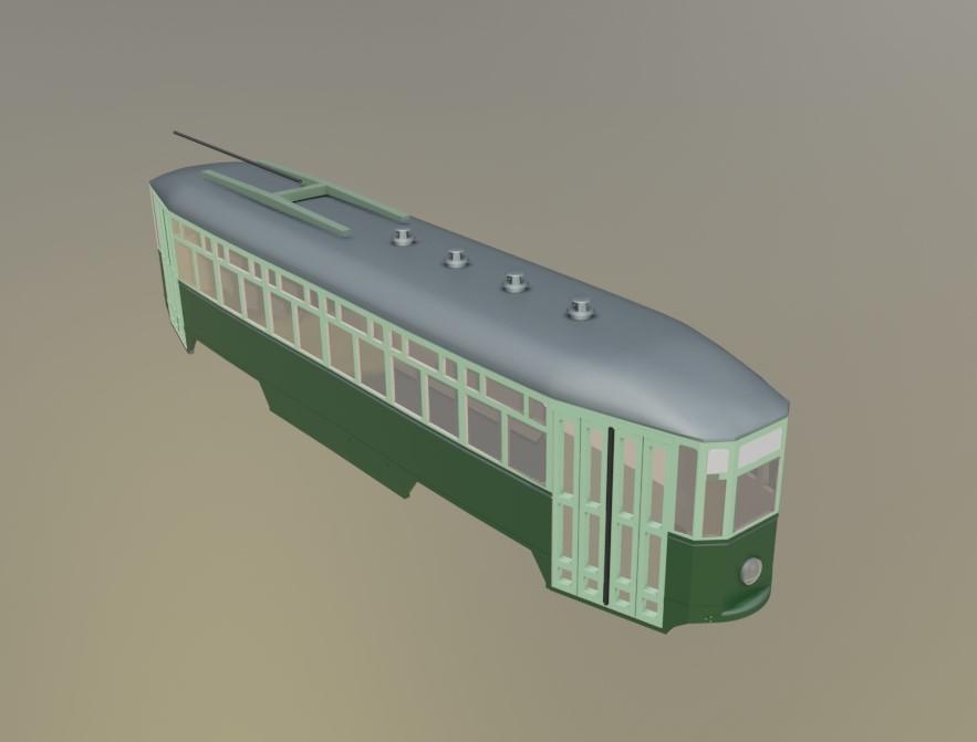 Tram Peter Witt Napoli