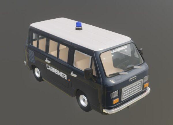 LavoriVirtuali - FIAT 900T Carabinieri