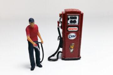 LavoriVirtuali - Pompa benzina vintage