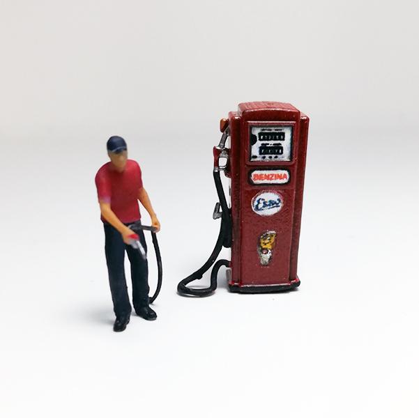Pompa di benzina Vintage