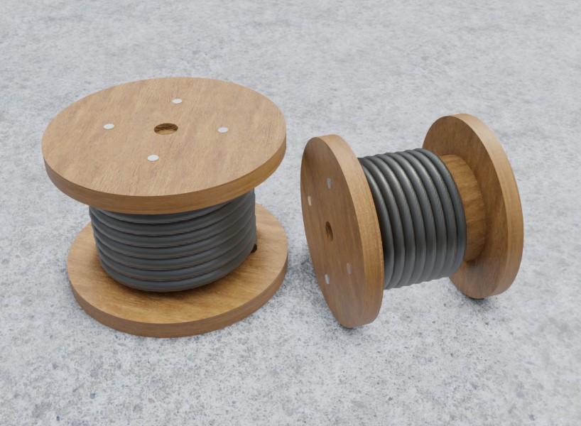 Rocchetti per cavi elettrici